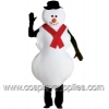 Mr. Snowman  w/ Hat and Scarf